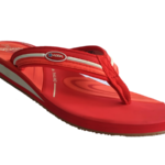 ADDA Galaxy 11 Red TPR Cushion Thong Washable Casuals Slippers