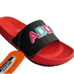 ADDA 2D-Fresh Lady's Black Red EVA Cushion Washable Casuals Slippers