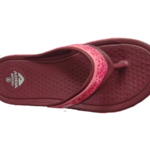 ADDA Everytime Purple Lady's EVA Thong Washable Casuals Slippers
