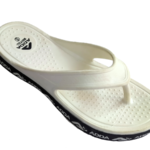 ADDA Alltime White Lady's EVA Thong Washable Casuals Slippers