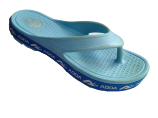 ADDA Alltime Sky Lady's EVA Thong Washable Casuals Slippers