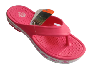 ADDA Alltime DarkPink Lady's EVA Thong Washable Casuals Slippers