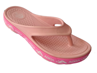 ADDA Alltime LightPink Lady's EVA Thong Washable Casuals Slippers