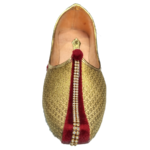 Jutti Golden Maroon for classics, Indio westerns & Ethnic-wear
