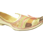 Jutti Golden Multi for classics, Indio westerns & Ethnic-wear